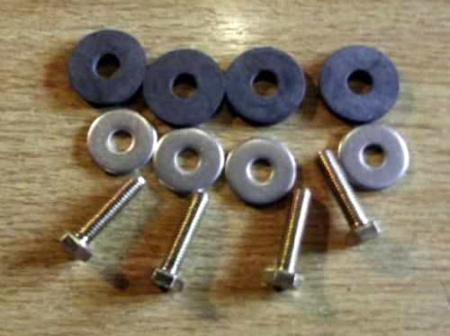 Boot / luggage rack fitting kit, bolt on, M5 bolts & washers